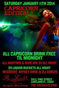 CAPRICORN Party @ The Socialite