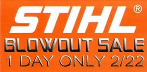 Stihl 1 day sale