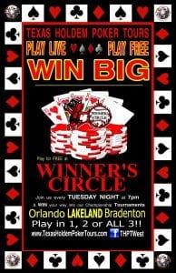Tuesday Night Texas Hold Em Poker w/ THPT West