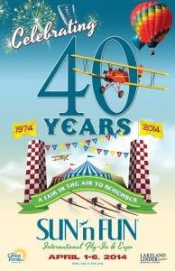 Sun n Fun 40yr Anniversary