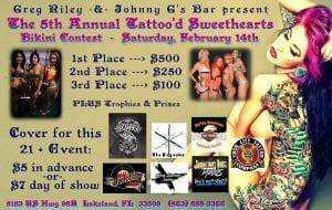 Tattooed Sweethearts Bikini Contest