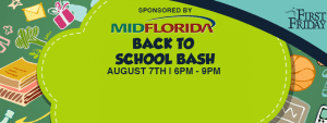 Fri. July 24th, 2015 - First Friday August - Back to School Edition