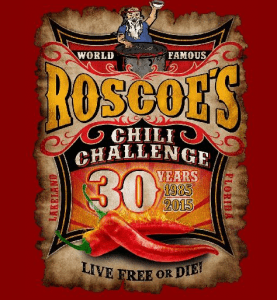 Roscoes Chili Challenge 30th Anniversary