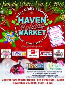 Sat. Nov 21 Winter Haven Holiday Market