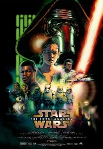 Star Wars The Force Awakens Opens in Theaters
