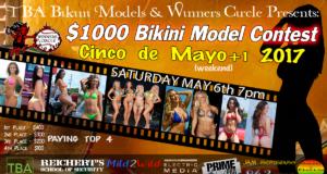 Sat. May 7th - Cinco de Mayo 2017 Bikini Contest | TBA Bikini Models