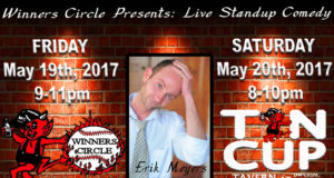 Saturday Night Comedy with Erik Myers at Tin Cup