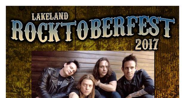 Lakeland RocktoberFest 2017 at Mason's Live with Puddle Of Mudd