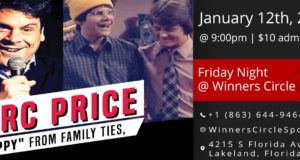 "Fri. Jan 25th - Touring Comedian Marc ""Skippy"" Price & Viet Huynh at Winners Circle"