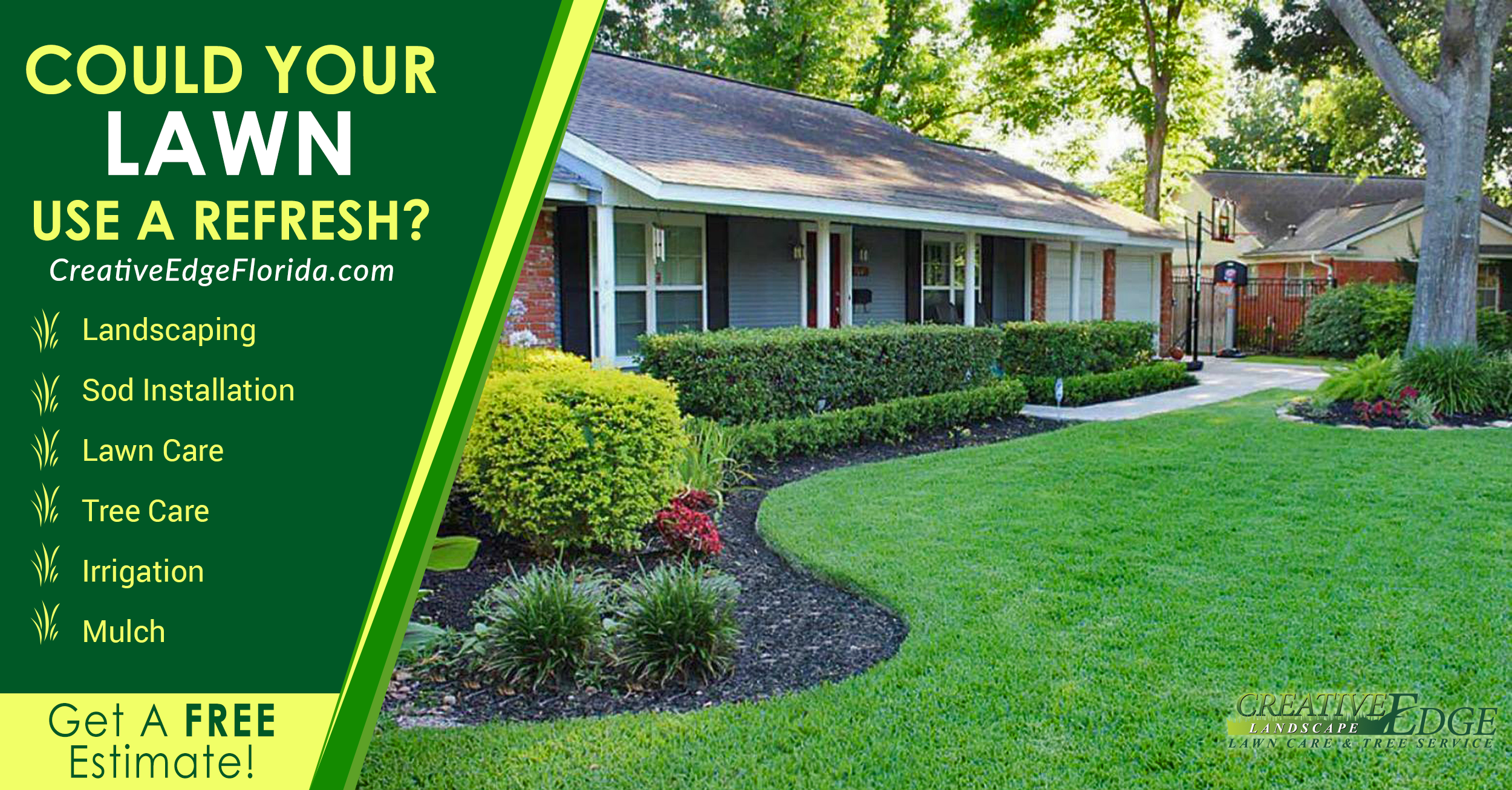 Creative Edge Residential Lawncare & Landscaping - Lakeland, Florida