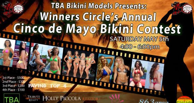 Sat. May 5th - Cinco de Mayo 2017 Bikini Contest | TBA Bikini Models