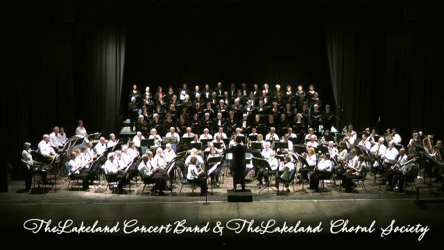 Lakeland Concert Band, Christmas, Kid friendly,