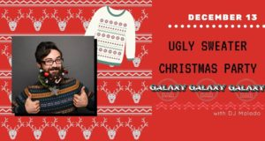 Lakeland, Galaxy Bar, Ugly sweater, Christmas, Holiday