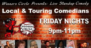 comedy, Lakeland, Winners circle, Live