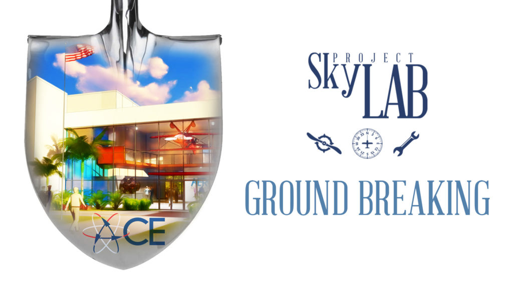 Project SkyLab Groundbreaking Sun 'n Fun Aerospace Center for Excellence