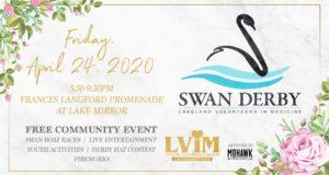 swan derby, lakeland, kid friendly, community, lakeland volunteeers in medicine