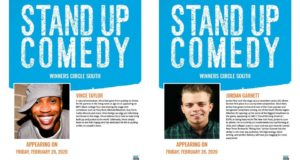 Winners circle, Standup comedy, Lakeland, Florida, Sports bar, Wings, Beer, Vince Taylor, Jordan Garnett