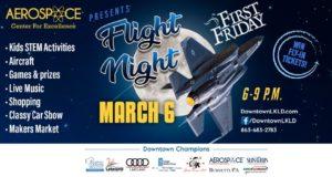 Downtown Lakeland, Flight, Night, Kid Friendly, Classic Car Show, Games, Prizes, Vendors, Aerospace Center