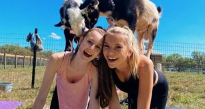 Goat Yoga, Lakeland, Monarchs & Miracles Farm, Fitness