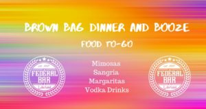 Federal bar, Brown Bag & Booze, Lakeland, , Adult capri sun, Cocktails, Curbside pickup, Mimosas, Sangria, margaritas