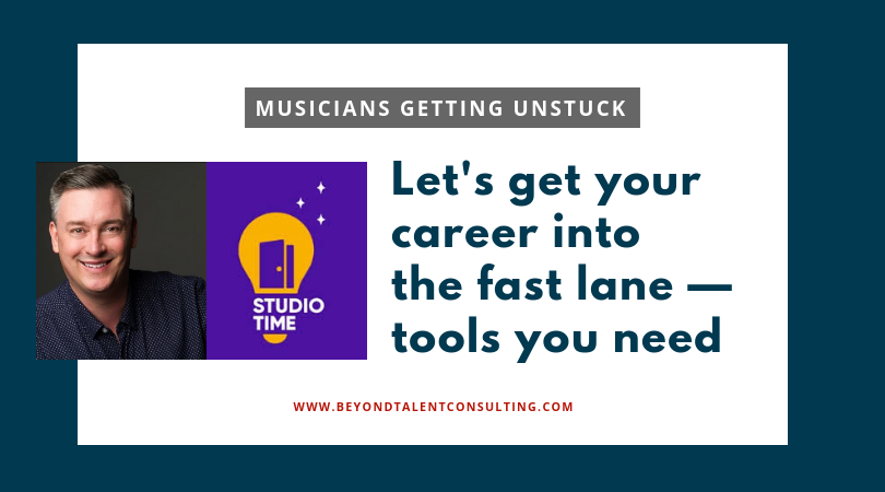 How to get unstuck Matthew Carey and his podcast Studio Time