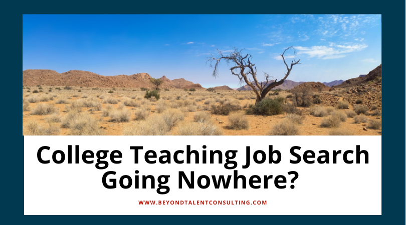 College Job Search Going Nowhere?