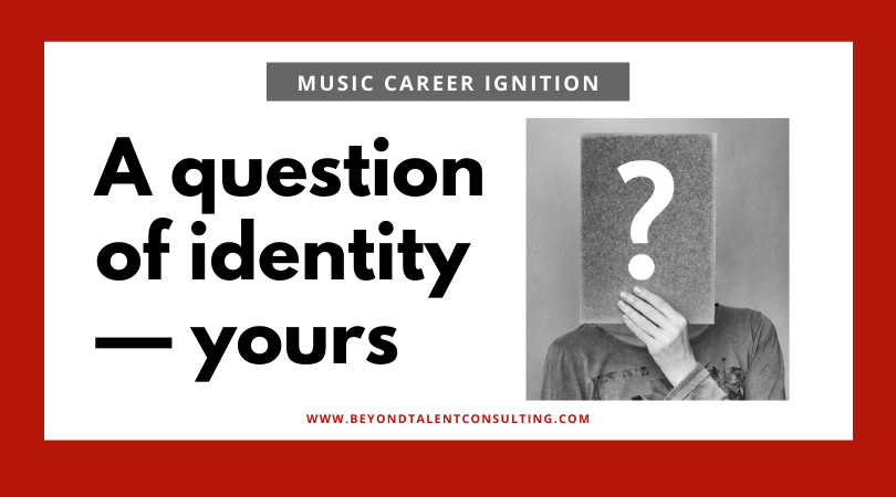 a question of identity — yours