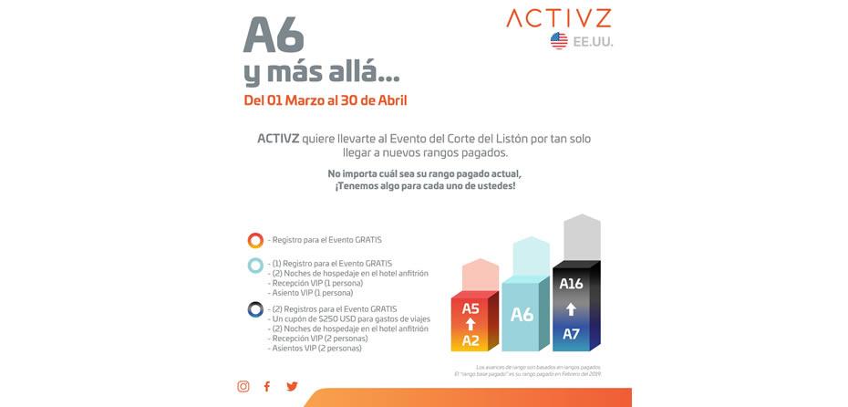 ACTIVZ A6 y más allá ESP USA