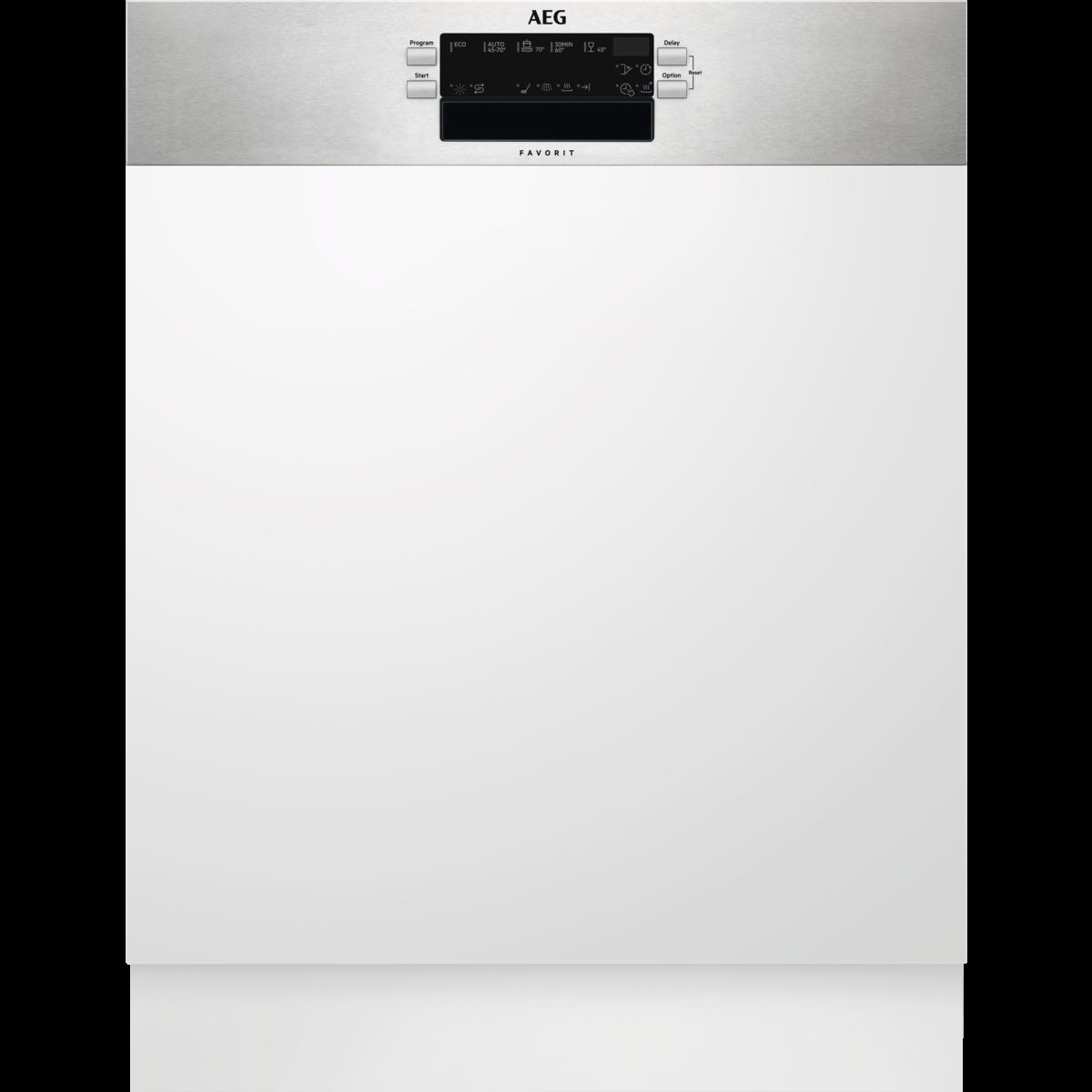 מדיח כלים חצי אינטגרלי דגם - FEE62800PM
