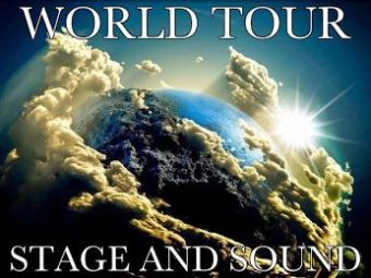 WORLD TOUR STAGE AND SOUND