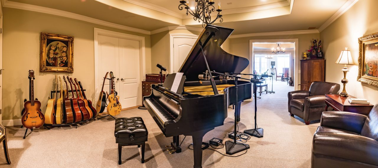 Grand Piano into other rooms