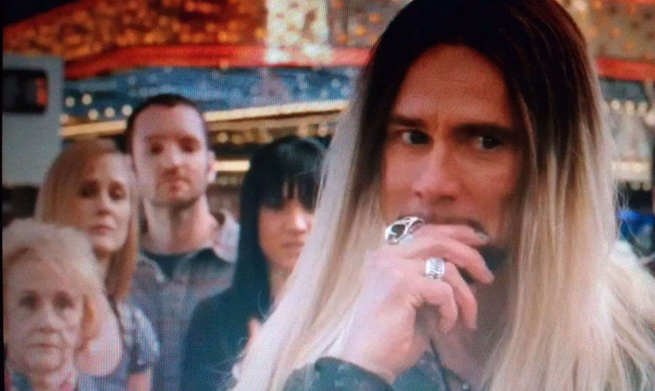 """Chance seen in """"The Incredible Burt Wonderstone"""" w/ Jim Carey - Watch Timothy Chance Band's """"PAULINE"""" Music Video on AMC Today!  CLICK LINK HERE: https://americanmusicchannel.com/…/videos/user/timothychance"""