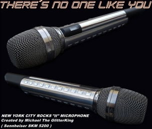 Design Microphones created by Multi Artist Michael The GlitterKing