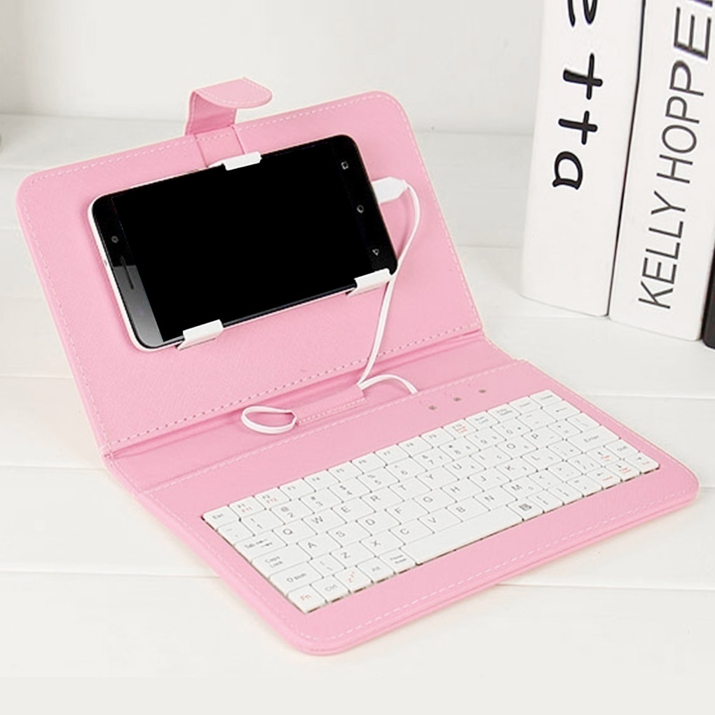 Bluetooth Keyboard Flip Case Cover For Android Phone