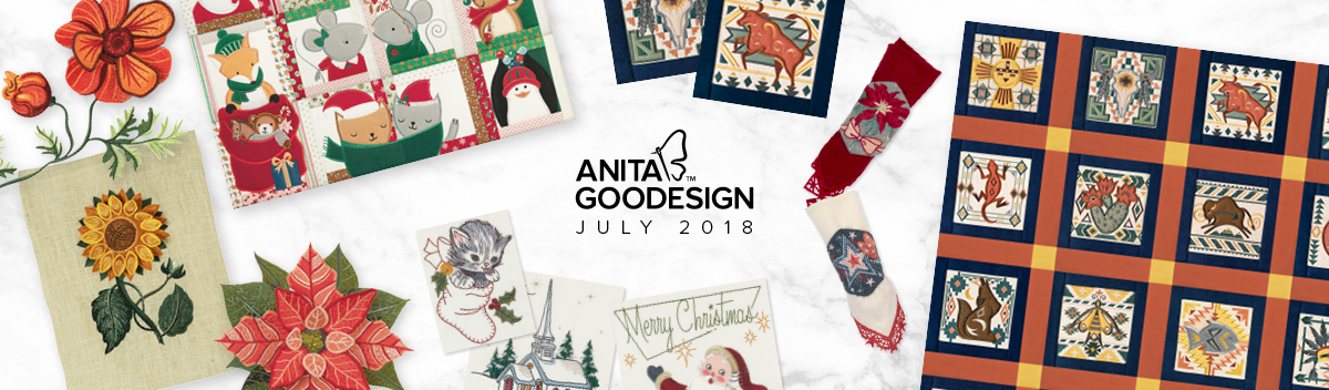 Machine Embroidery Designs & Patterns   Anita Goodesign