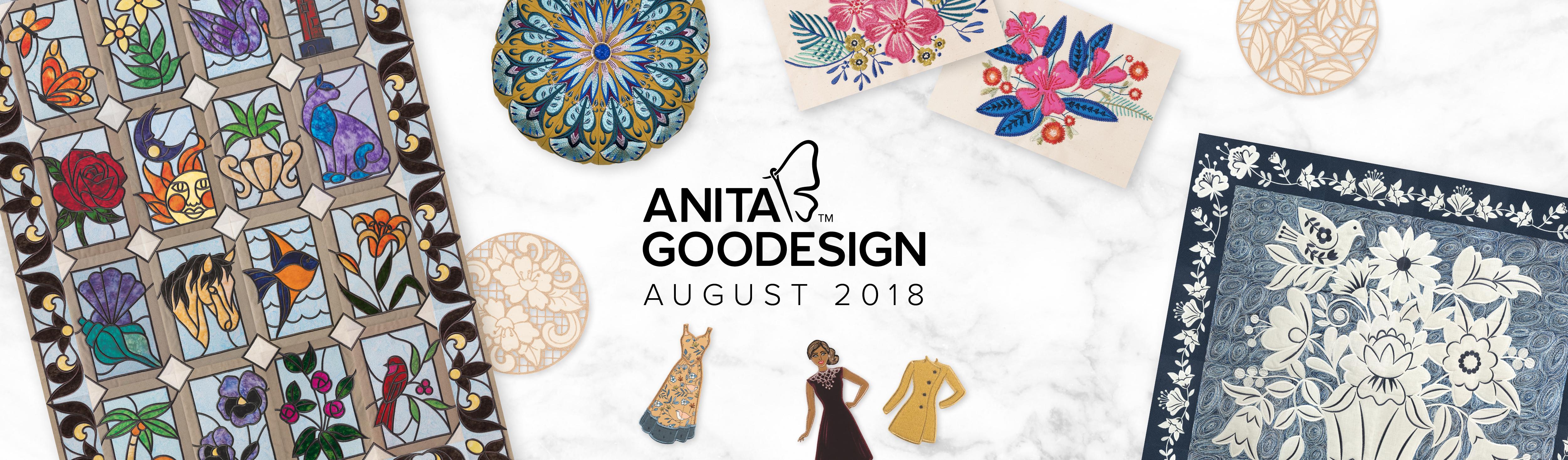 Machine Embroidery Designs & Patterns | Anita Goodesign