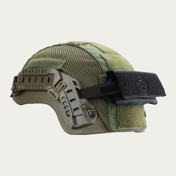 Busch Protective AMP-1 TP Ballistic Helmet with Counter Weight and Cover