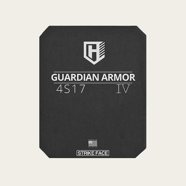 Guardian 4S17 - Level IV Rifle Protection Plates - Full Cut