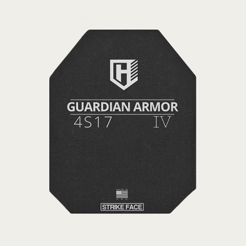 Guardian 4S17 - Level IV Rifle Protection Plates - Shooter's Cut