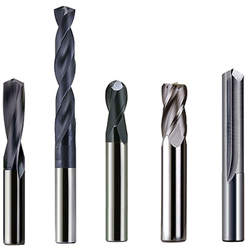 Carbide End Mills and Drills