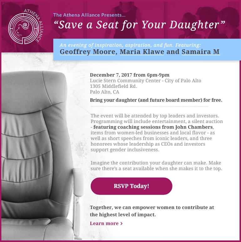 Save a Seat for Your Daughter