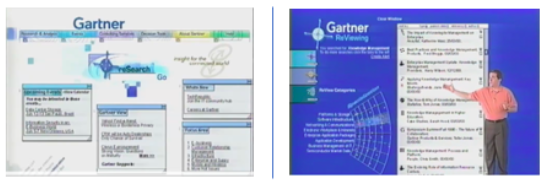 Gartner website screenshots