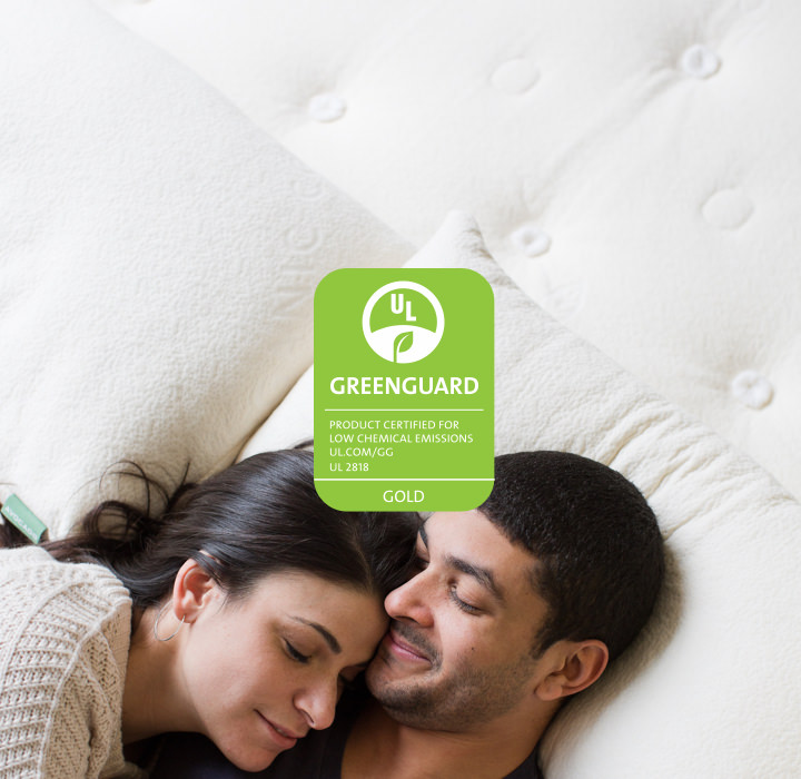 UL Environment GREENGUARD GOLD Certified Natural Mattress