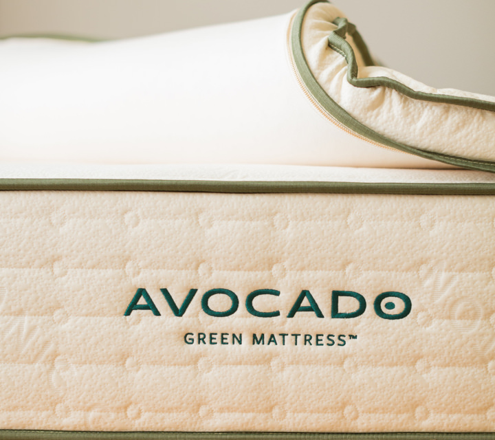 Avocado Vegan Mattress Topper Product Photo