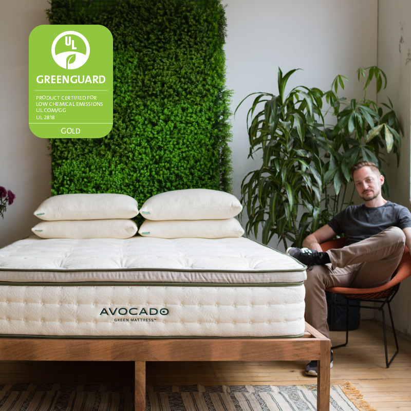 Green Latex Mattress | All Natural Latex Mattress | Avocado