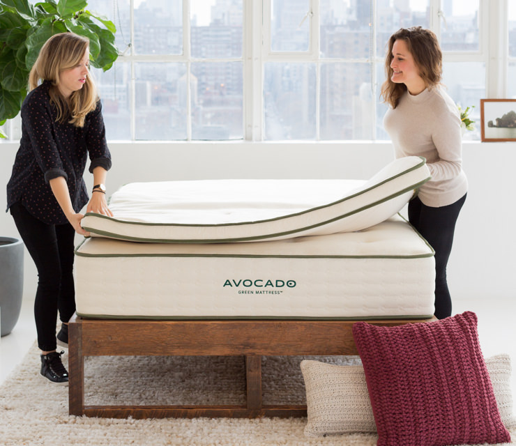 Natural Amp Organic Latex Mattress Topper Avocado Green