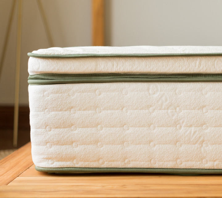 Avocado Green Natural Latex Mattress Topper Product Photo