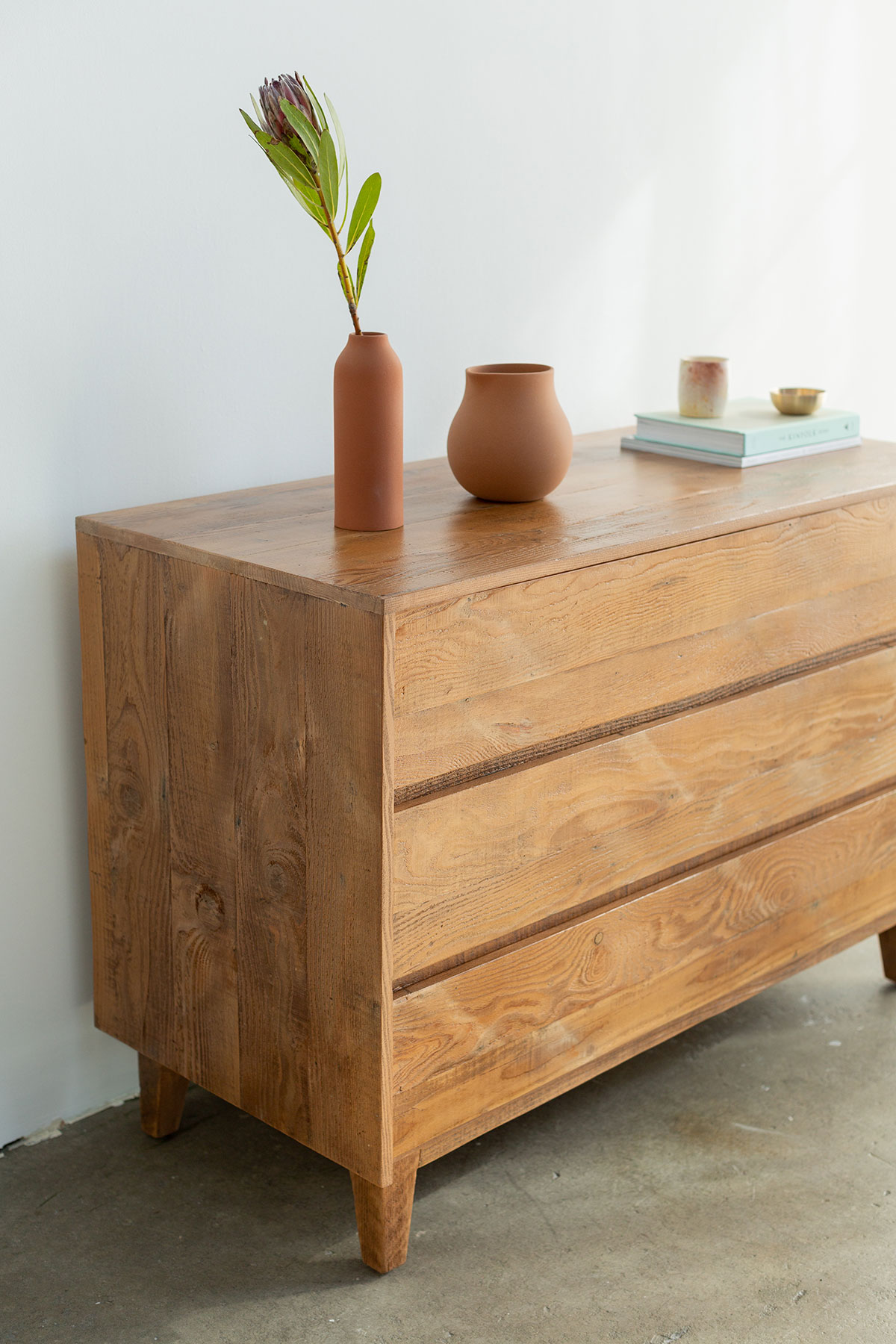 Natural Wood Dresser Product Photo