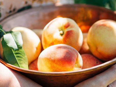 Peach Picking - Summer