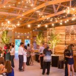 Interior view of wedding reception at Apple Holler